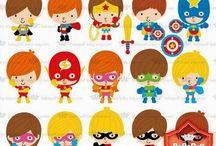 ⭐️ Mini Superheroes / BaBaPuff BABY
