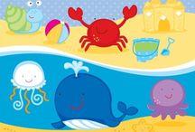 ⭐️ Sea Creatures / Zenware Designs