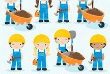 ⭐️ Little Builders / Graphos clipart