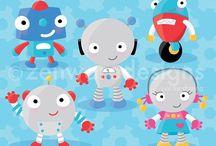 ⭐️ Robots / Zenware Designs