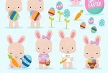 ⭐️ Easter bunny 1 / Graphos clipart