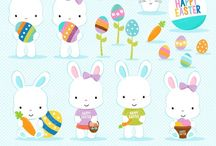 ⭐️ Easter Bunny 2 / Graphos clipart