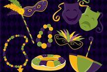 ⭐️ mardi gras / Zenware Designs