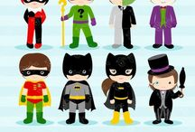 ⭐️ Superheroes 8 / Graphos clipart