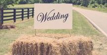 Country wedding / Country weddings ideas - decorations, clothes, table decors, table linens, candels, rustic details