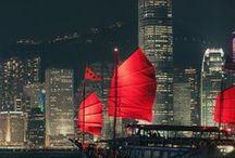 Hong Kong/Jiuzhaigou/Great Wall