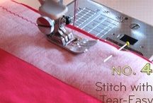 sewing / by Tanya Sled