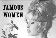 Famous Women We Love / by MissesDressy