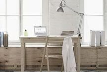 HOME DECOR / Studio space and home dwellings of decor that inspire our studio and home.
