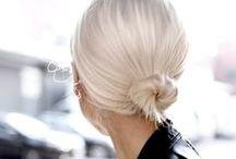 H A I R / Hair styles, braids,
