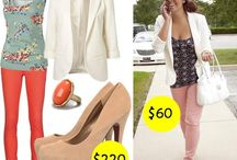 Pinspired outfits for cheap! / Learn how to make some of the popular outfits on Pinterest for WAY cheaper than the original!
