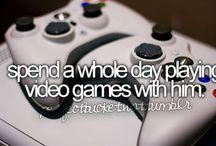 video games  / by Jessie Stanley-Zaykov