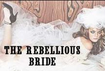 The Rebellious Bride / Unique Bridal Dresses ~ Inspirations and gowns available at www.missesdressy.com.
