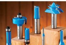 Router Bits / All things router bits for the workshop. / by Rockler Woodworking and Hardware