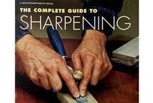 Sharpening / Learn how to sharpen woodworking tools. / by Rockler Woodworking and Hardware
