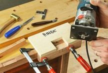 Router Techniques - for beginners to masters / Routers are a corner stone of many woodshops, and for good reason. Their diverse capabilities make them a wonderful tool to learn how to use correctly. We've collected router techniques, joinery, tips and tricks, and more on this board for your convenience.  / by Rockler Woodworking and Hardware
