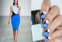 Fashion Friday Nails / Every Friday, I do a manicure inspired by Fashion :)