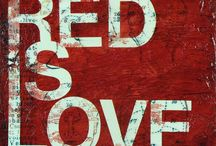 RED / All things red / by Theresa Dezan