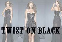 Twist of Black Dress / by MissesDressy