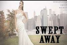 Swept Away- Bridal 2014  / MissesDressy Bridal Spring/Summer 2014 Lookbook: http://www.missesdressy.com/lookbook/bridal-201   / by MissesDressy