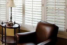 Shutters / Build movable or fixed louver styles and save up to 75% over the cost of custom ordered shutters! It couldn't be easier with exclusive Rockler jigs, hardware, and pre-shaped louvers.  / by Rockler Woodworking and Hardware