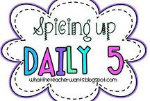 Daily 5 / by Sofia Huitron