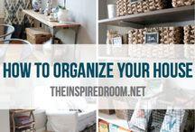 Home Organization / by Sofia Huitron