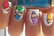 Back to School ! / Back to School Nail-Art Inspiration :)
