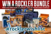 #rocklerwishlist Contest / You could win a Rockler Bundle with a value of over $300! To enter just Pin our products (that link to our website) and tag them: #rocklerwishlist. We are also giving away bundles on Facebook, Instagram and Twitter using the same hashtag. / by Rockler Woodworking and Hardware