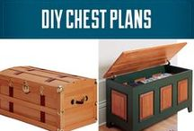 DIY Trunk / Chest Projects & Plans / Everyone could use some more storage and a sturdy blanket chest or heirloom trunk is always a great conversation piece. Trunks and chests are actually easier to build than you might think. Check out this collection of great trunk and chest projects and plans to help inspire you and get you on your way. / by Rockler Woodworking and Hardware