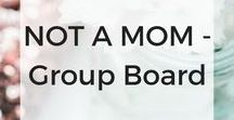 NOT A Mom Group Board / Share pins that do NOT include anything about parenting or kids. I started this group because I would like to re-pin pins I relate to and actually want to save that content.  Post as often as you'd like but don't be too spammy. Re-pin for every pin posted!  *new due to popularity*  --> Fill out this form to join our group: http://eepurl.com/dhjKSX