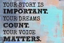 Inspiration & Wisdom / by Jodi Jensen