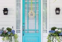 front door...entry