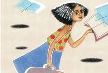 Lleva un libro en la maleta • Carry a Book in your Suitcase  / TERCER PREMIO NACIONAL 2012 a los Libros Mejor Editados Texto: Virginia Read Escobal Ilustraciones: Lucia Sforza ISBN: 978-84-92964-35-2  http://www.pintar-pintar.com/libro/9788492964352/lleva-un-libro-en-la-maleta/ / by Pintar-Pintar Editorial