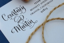 Calligraphy & Hand lettering / Calligraphy. typography. Hand lettering.