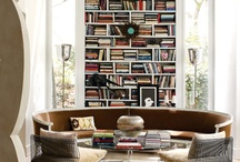 Library / Lovely library interiors for the bibliophiles.