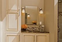 Transitional Elegance Bathrooms