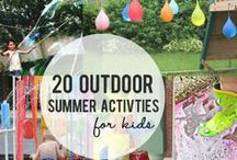 Seasons {Summer Bucket List} / Fun activities, traditions, trips, food to do during the summer!