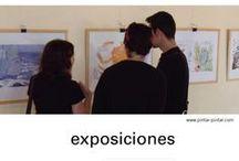 Exposiciones Pintar-Pintar / by Pintar-Pintar Editorial