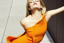 Orange / My favourite colour to wear. / by Amy Sillince