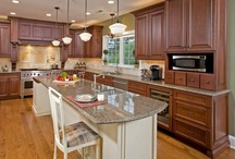 European Traditional Kitchen in Doylestown, PA / This European traditional kitchen in Doylestown, PA was build and designed by the award-winning design/build firm of HomeTech Renovations based in Fort Washington, PA.