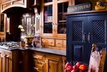 Gothic Inspired Kitchen in Fort Washington, PA / This gothic-inspired kitchen in Fort Washington, PA incorporates a number of gothic elements and was designed and constructed by HomeTech Renovations.