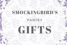 Smockingbird's Pantry / The recipes on this board are made with gourmet food products that are available at Smockingbird's.