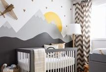 Little Boys' Rooms / Cute room inspirations for my little boy