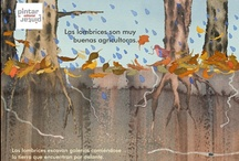 ¿Qué es la Agricultura Ecológica? / ISBN: 9788493533130  Libro de conocimiento lleno de color, escrito e ilustrado por Ester Sánchez (socia fundadora de Pintar-Pintar Editorial) con desplegables explicando a los niños conceptos como agricultura ecológica, biodiversidad, ecosistema o equilibrio ecológico. Es el primer libro infantil sobre este tema que se publica en España y forma parte de la colección de libros de conocimiento para niños, preferencia de la editorial. Ha sido traducido al catalán y al euskera.