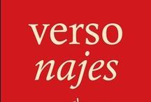 VERSOnajes / VERSOnaxes  / Texto: Aurelio González Ovies Ilustraciones: Ester Sánchez ISBN (asturiano): 978-84-92964-51-2  ISBN (castellano): 978-84-92964-52-9  http://www.pintar-pintar.com/libro/9788492964529/versonajes/ €13,50