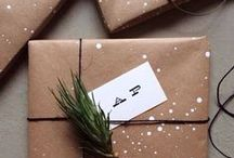 Holiday Packaging / Ideas for packaging gifts during the holiday season