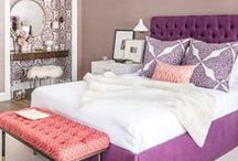 Bedroom / Stylish bedrooms that are as comfortable as they are chic.