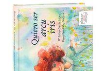 Quiero ser arcu iris / Testu: Esther García López Ilustraciones: Reyes Fernández Medina Formatu: 17,8x15,20 cm. Encuadernación: Tapa dura ISBN: 9788492964574  Páxines: 80 idioma: Asturianu Añu d'edición: 2014