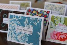 My cards / by Amy Uhrich